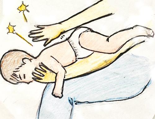赤ちゃんへの異物除去法