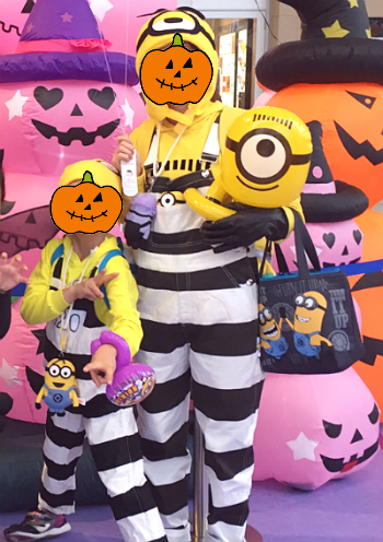 私たちのミニオンコスプレ仮装パレード